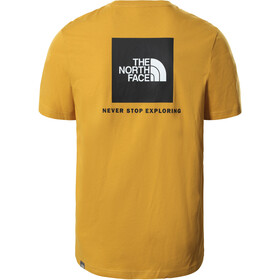 The North Face Redbox SS Tee Men arrowwood yellow